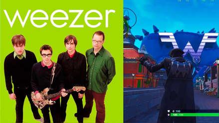 Fortnite crea parque de diversiones de Weezer para celebrar el lanzamiento de su nuevo álbum
