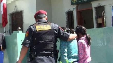 Mininter: Policía puso a buen recaudo a las hijas de la mujer atacada con desarmador en Ayacucho