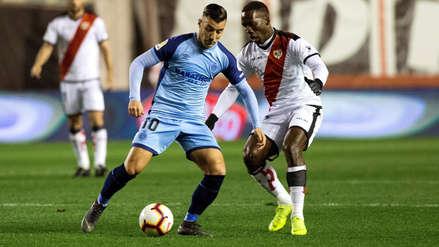 Rayo Vallecano, con Luis Advíncula, cayó ante Girona y se complicó aún más con el descenso