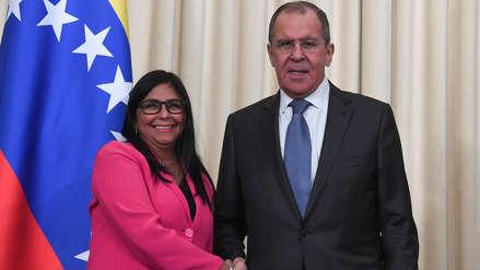 Rusia se compromete a seguir apoyando con ayuda humanitaria a Venezuela