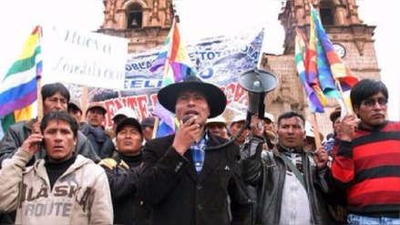 Gobernador de Puno negó provocación en zona en conflicto con Moquegua: