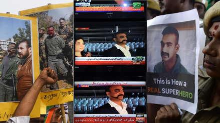 """Pakistán capturó a piloto de la India en su territorio y lo liberó como """"gesto de paz"""" hacia su rival [FOTOS]"""