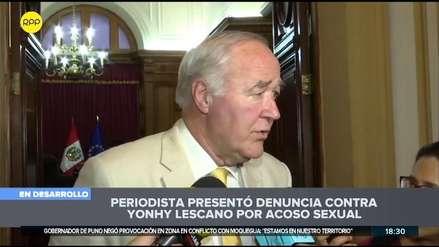 García Belaunde sobre denuncia contra Lescano: