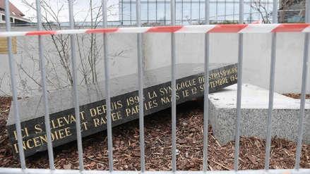 Autoridades francesas denuncian nuevo ataque antisemita en Estrasburgo