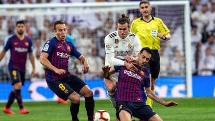 Con gol de Iván Rakitic, Barcelona venció 1-0 a Real Madrid   el clásico por la fecha 26 de la Liga Santander