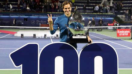 Roger Federer histórico: logró el título 100 de su carrera como tenista profesional