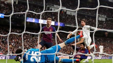 Barcelona volvió  a  golpear en el Bernabéu para acercarse al título