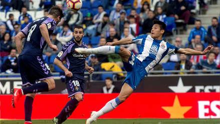 Hace historia: Wu Lei se convirtió en el primer jugador chino en marcar en LaLiga