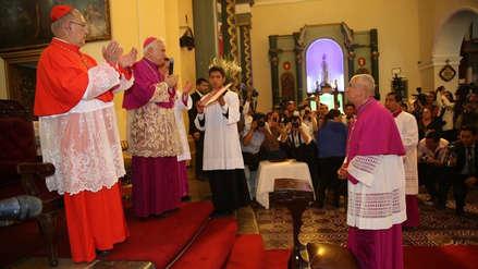 Carlos Castillo Mattasoglio tomó posesión del cargo de arzobispo de Lima