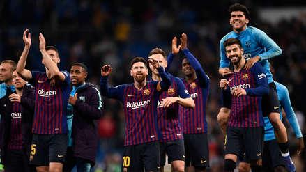 Barcelona venció a Real Madrid: así fue la celebración azulgrana en vestuario del Santiago Bernabéu