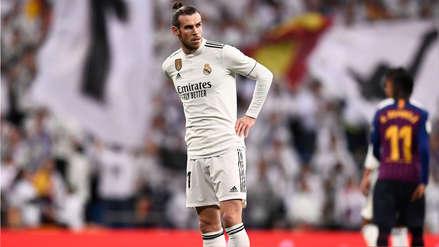 Gareth Bale fue abucheado en el Santiago Bernabéu al ser cambiado en el Real Madrid vs. Barcelona