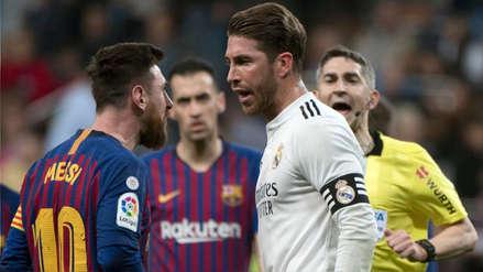 Lionel Messi calificó a Sergio Ramos de 'mala leche' por el golpe que recibió en el Real Madrid vs. Barcelona