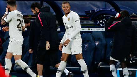 Kylian Mbappé le dio el triunfo al PSG sobre el Caen con este doblete