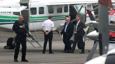 Lula da Silva salió de prisión para asistir al entierro de su nieto