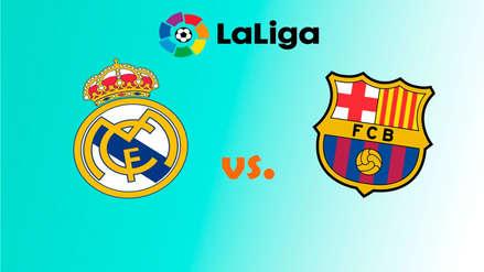 Real Madrid vs. Barcelona: alineaciones confirmadas del clásico español por LaLiga en el Santiago Bernabéu