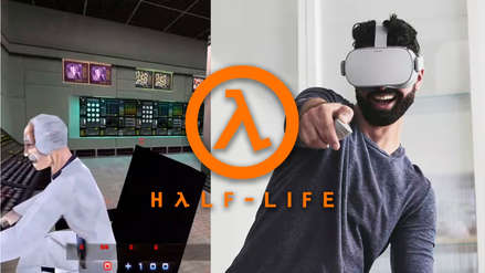 (Video) ¿Half-Life en realidad virtual? Mod permite experimentar clásico videojuego como nunca
