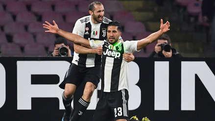 Juventus venció al Napoli de visita y le sacó 16 puntos de ventaja en la Serie A