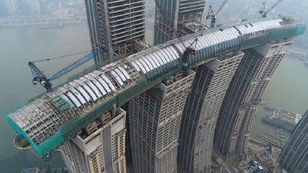 Este rascacielos horizontal se llama The Crystal, costó US$4.800 millones, y es lo más espectacular que verás hoy