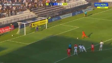 Alianza Lima vs. César Vallejo: Pedro Gallese se lució en su primer penal atajado
