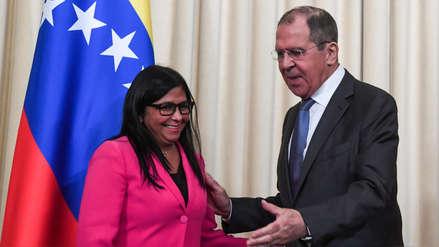 Rusia asegura a Delcy Rodríguez que impedirá intervención militar de EE.UU. en Venezuela