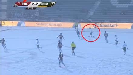 Andy Polo con Portland Timbers: en estas condiciones extremas jugó el peruano en la MLS
