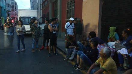 Policía detuvo a 104 personas tras intento de desalojo del edificio de la ex Cooperativa Santa Elisa