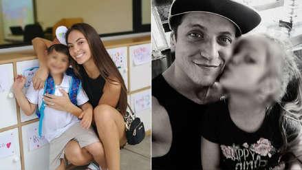 Natalie Vértiz y otros famosos compartieron fotos del inicio del año escolar de sus hijos