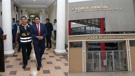 Juez del Callao vinculado al caso 'Cuellos blancos' se entregó ante el juzgado supremo del Poder Judicial