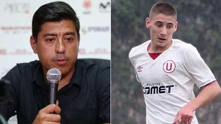 """Universitario de Deportes   Nicolás Córdova sobre Tiago Cantoro: """"A un jugador de su edad se le debe contratar en 5 minutos"""""""