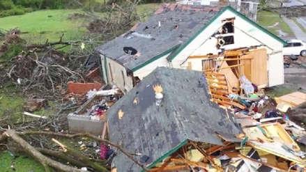 Estados Unidos: Al menos 22 muertos dejan los tornados que golpearon Alabama