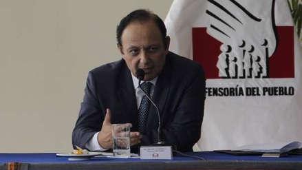 Defensor del Pueblo se reunió con periodista que denunció a Yonhy Lescano por acoso sexual
