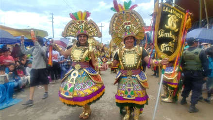 Cajamarca vibró con el Gran Corso del carnaval con más de cien delegaciones