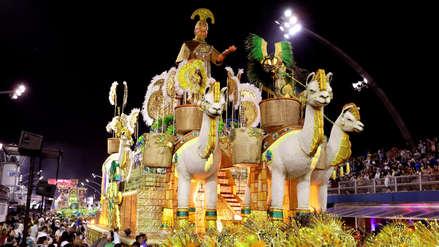 Las fotos de la presentación en el Carnaval de Sao Paulo que rindió tributo a la riqueza de Perú
