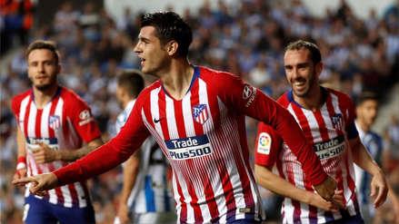 Atlético de Madrid vs. Real Sociedad: los 'colchoneros' ganaron 2-0 por la jornada 26 de LaLiga