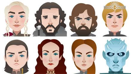 Los emojis de Game of Thrones llegan a Twitter: estos son los hashtags para cada personaje
