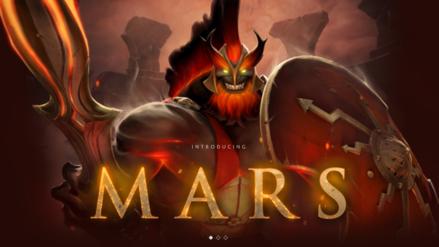 Dota 2 | ¡Finalmente! Mars, el nuevo héroe, presenta todas sus habilidades y ya es jugable