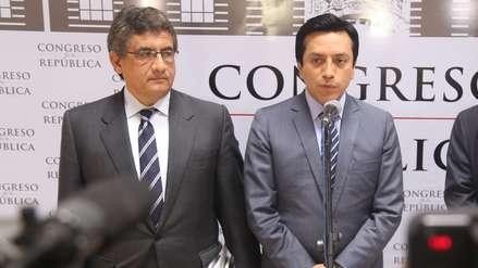 Bancada Ppk anuncia proceso para sancionar a Gilbert Violeta y Juan Sheput