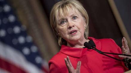 Hillary Clinton descartó que vaya a postular a la Presidencia de EE.UU. en 2020