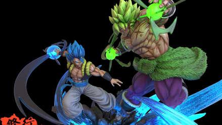 Dragon Ball Super | Figura de lujo de Gogeta Vs Broly impresiona a fanáticos