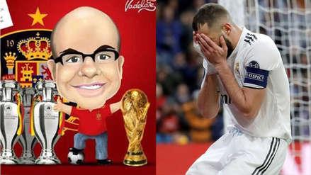 Mister Chip recordó las siete goleadas que sufrió el Real Madrid en los últimos siete meses