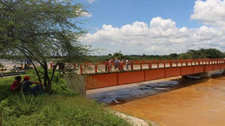 Alerta roja: río Tumbes incrementó su caudal y está en riesgo de desbordarse en las próximas horas