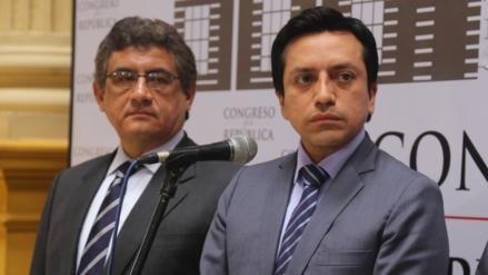 Gilbert Violeta y Juan Sheput renunciaron a la bancada de Peruanos por el Kambio