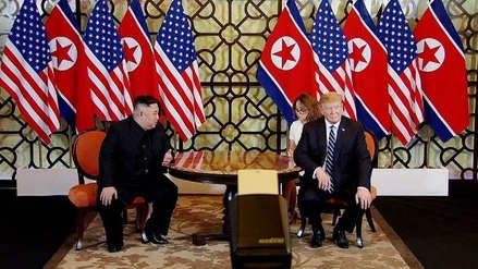 Donald Trump está dispuesto a seguir negociando con Corea del Norte