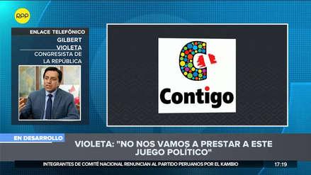 Violeta: Bancada de PpK buscó expulsarnos y cesar nuestros derechos parlamentarios