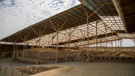 Protegen restos arqueológicos de La Libertad ante las lluvias e inundaciones