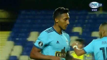 Sporting Cristal vs. Universidad de Concepción: GOL de Christofer Gonzales para el descuento en Chile