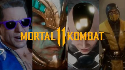 Mortal Kombat 11 revela muchos personajes en impresionante tráiler de historia