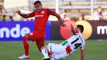 Palestino perdió 1-0 ante Internacional por el Grupo A de la Copa Libertadores