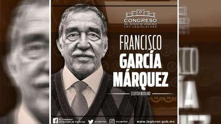 México | García Márquez se llamó 'Francisco' y 'era mexicano' para el Congreso de Veracruz