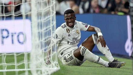 Real Madrid: Vinicius Junior recibió la peor noticia tras la eliminación en Champions League